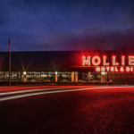 Mollies Motel Diner Exterior | Savile Brown