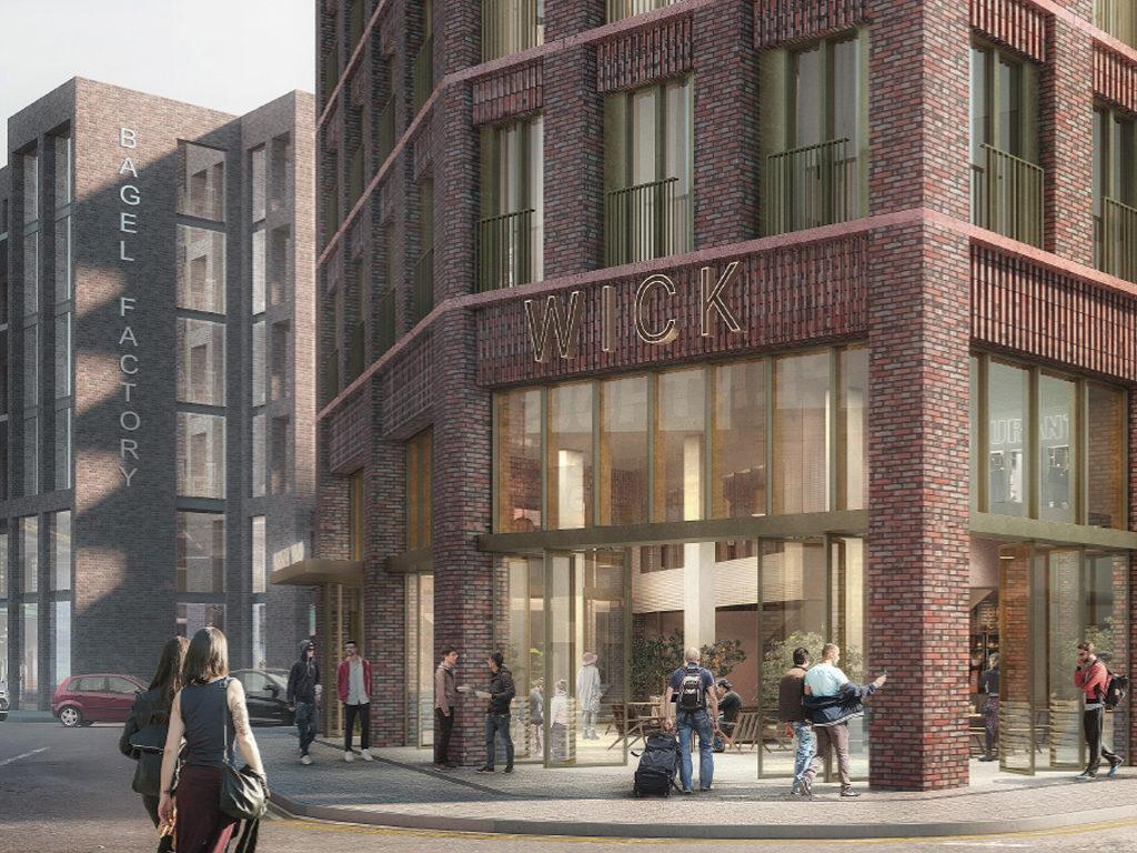 London Borough Of Hackney Hotel Scheme CGI Exterior | Savile Brown