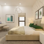 Residential Scheme London Borough Of Sutton Bedroom CGI | Savile Brown
